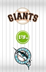 Florida Marlins vs. San Francisco Giants discount offer for in San Francisco, CA (AT and T Park)