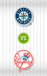 Seatle Mariners vs. New York Yankees discount offer for in Bronx, NY (New Yankee Stadium)