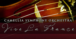 Camellia Symphony Orchestra: Vive La France discount password for tickets in Sacramento, CA (Memorial Auditorium)