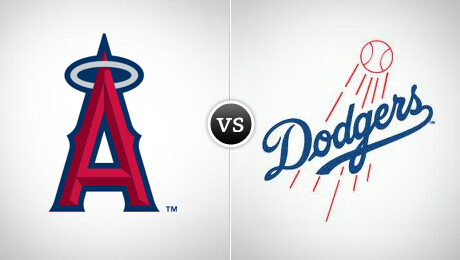 Los Angels Angels of Anaheim vs. Los Angeles Dodgers