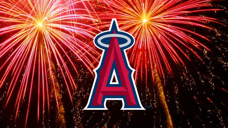 Los Angeles Angels of Anaheim Big Bang Fireworks Nights