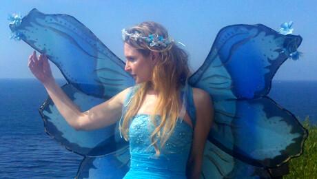 """Auntie Angelica's Fairy Garden"""