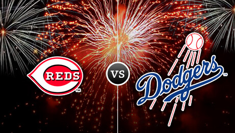 Cincinnati Reds vs. Los Angeles Dodgers: July 4th Fireworks